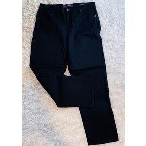 Gloria Vanderbilt Black Jeans